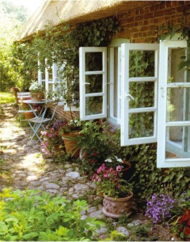 beautiful garden windows