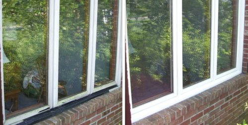 casement windows before and after