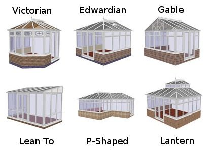 styles of conservatory