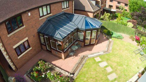 p-shape conservatory